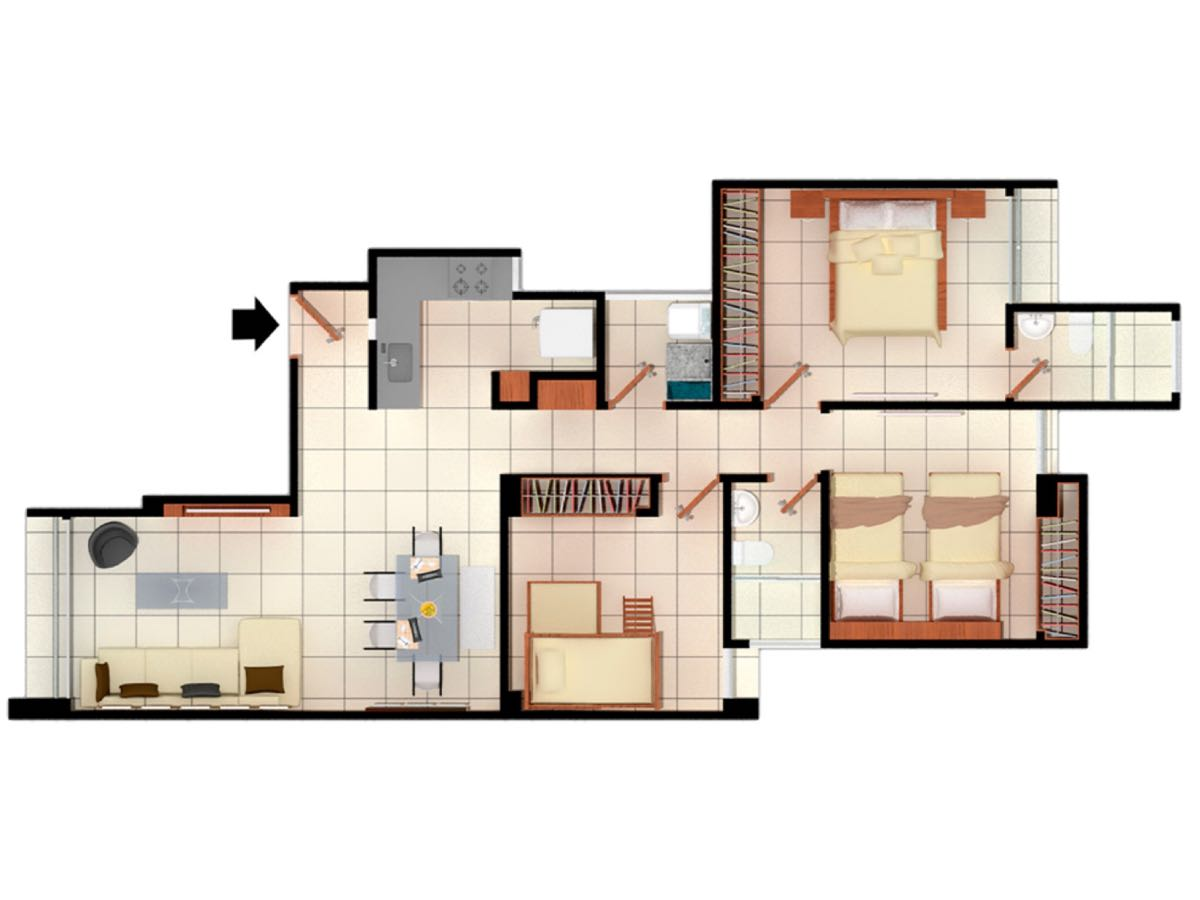 Apartamento en  Bavaria, SANTA MARTA 85609, foto 13