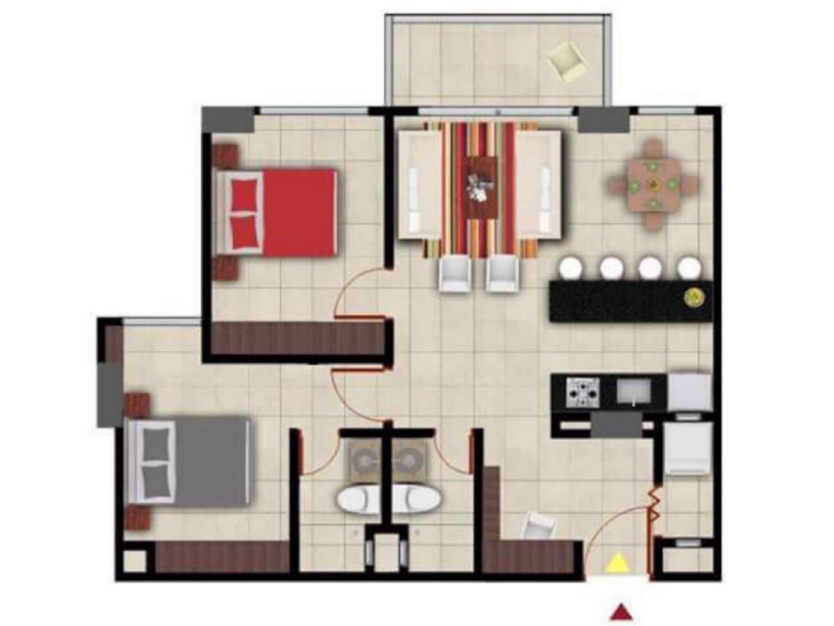 Apartamento en  Jardin, SANTA MARTA 89220, foto 8
