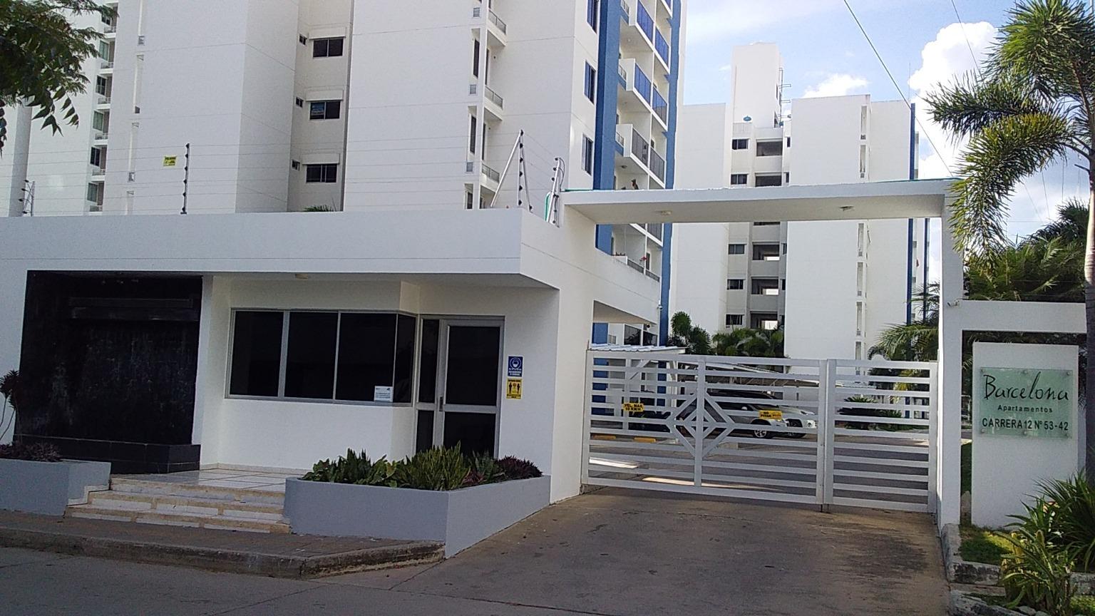 102048 - Apartamento disponible para arriendo Ed. Barcelona Montería