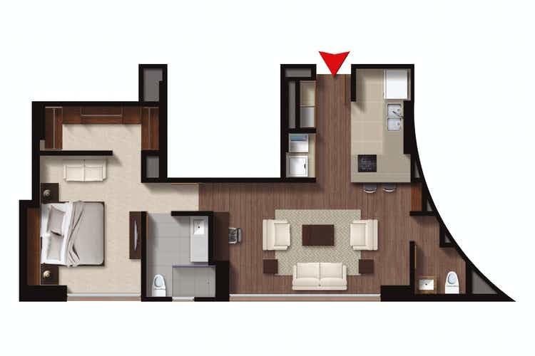 Apartamento en Los Rosales 6675, foto 15