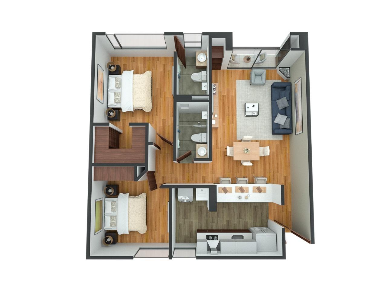 Apartamento en Nueva Autopista 6422, foto 1