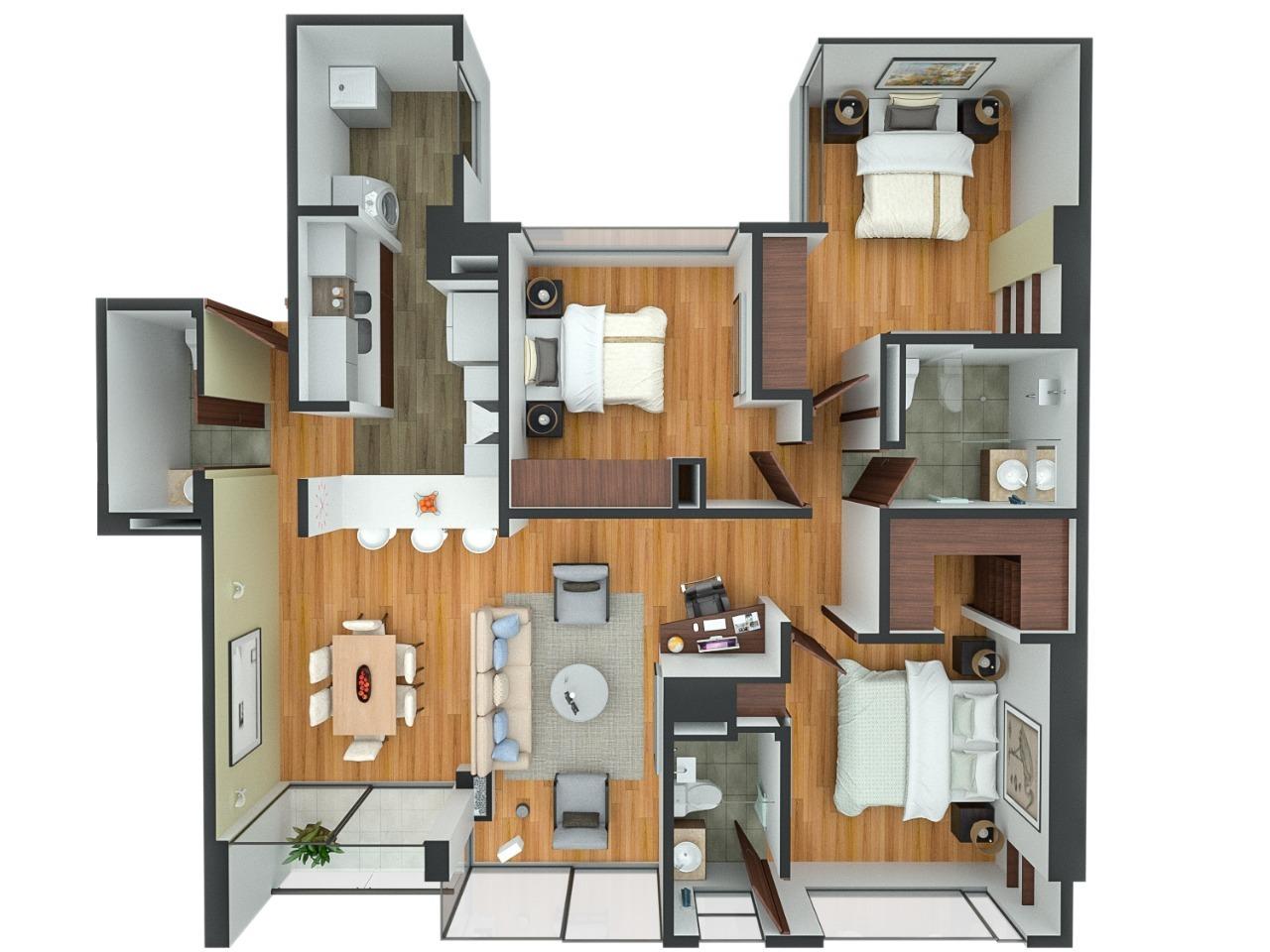 Apartamento en Nueva Autopista 6145, foto 3