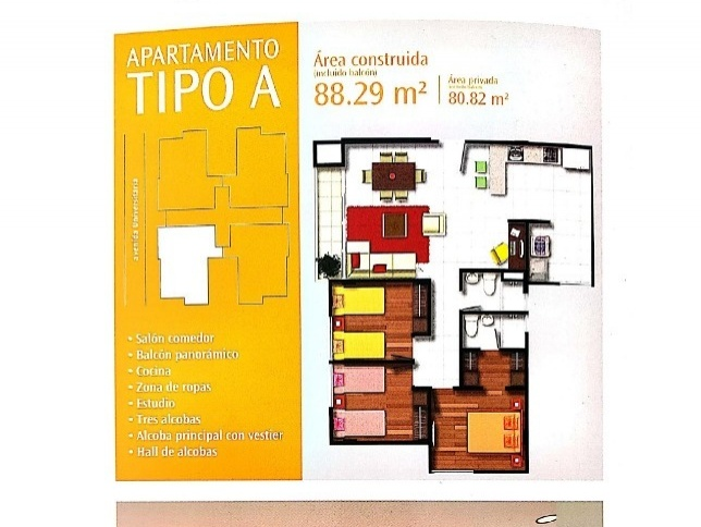 Apartamento en Tunja 546, foto 1