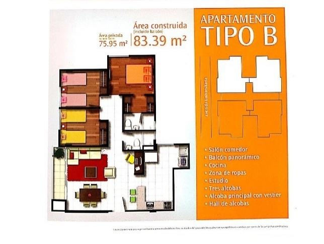 Apartamento en Tunja 546, foto 2