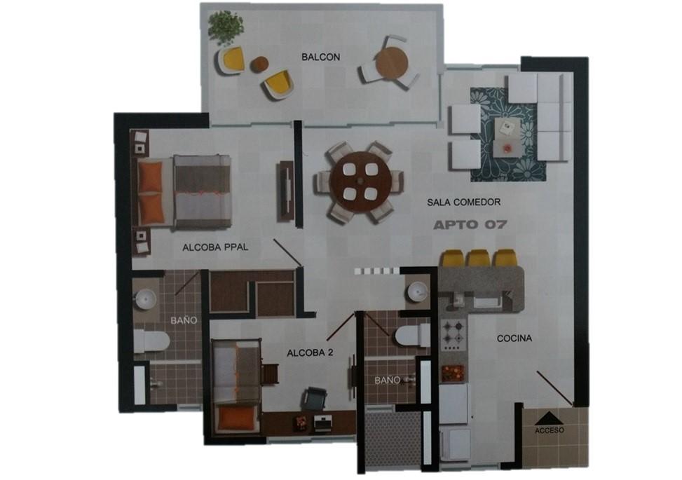 Apartamento en , SANTA MARTA 1255, foto 17