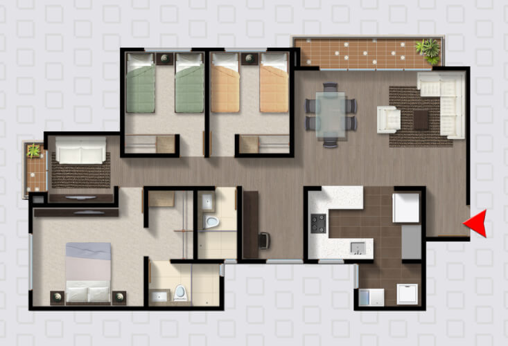 Apartamento en Madrid 9291, foto 4